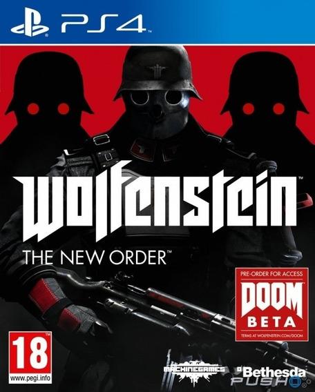 Wolfenstein - The New Order Ps4 Novo Original Lacrado