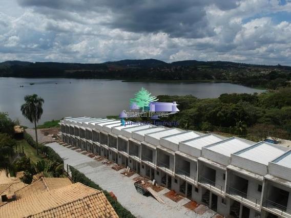 Estúdio / Loft Em Condomínio Na Represa - Pé Na Água- Para Locação Em Atibaia - Co00290
