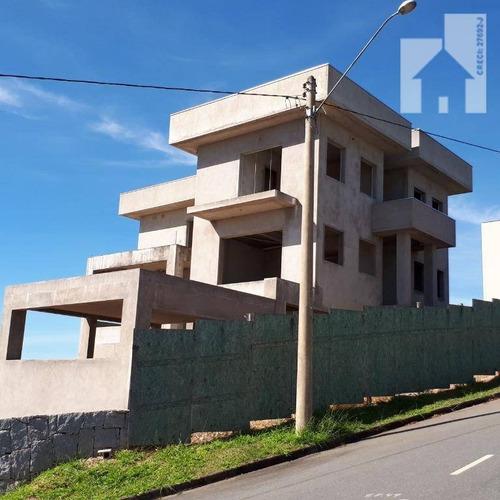 Casa Com 4 Dormitórios À Venda, 320 M² - Itatiba Country - Residencial Fazenda Serrinha - Itatiba/sp - Ca0830