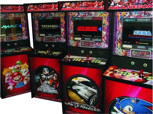 Multijuegoarcade Slim Lcd 5300 Juegos Mame 2 Jugadores
