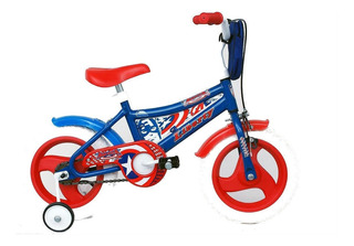 Bicicleta Capitan America Rodado 12 Con Freno Liberty