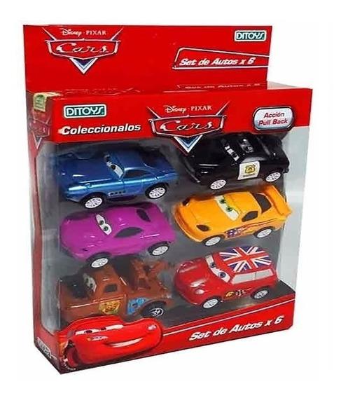 Auto Pull Back Cars A Friccion X6 Autitos Coleccion Original