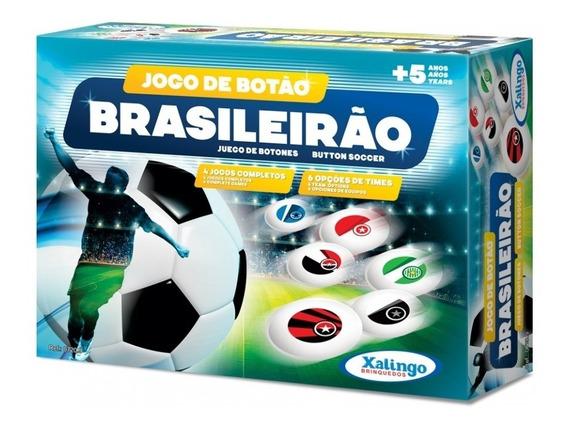 Jogo De Botões Brasileirão Futebol De Mesa 07209 Xalingo