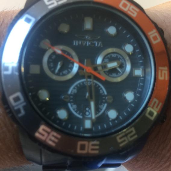 Relógio Invicta Pro Diver 21556 Cor Preta Masculino