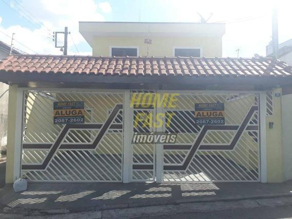 Sobrado Com 4 Dormitórios Para Alugar, 230 M² Por R$ 3.400/mês - Vila Galvão - Guarulhos/sp - So0686