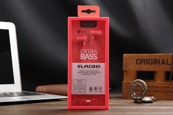 Kit 15x Fone Com Fio Preço De Atacado Extra Bass