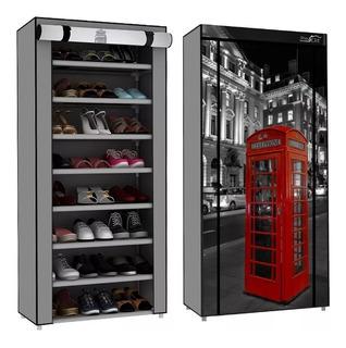 Zapatera Organizador De Zapatos Closet 8 Niveles 24 Zapatos