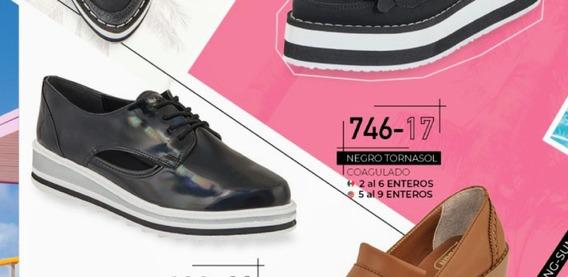 Flats Negro Tornasol 746-17 Cklass Primavera-verano 2020