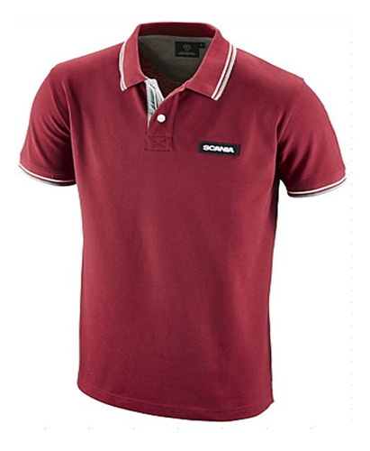 Camisa Polo Scania Vermelha - Masculina