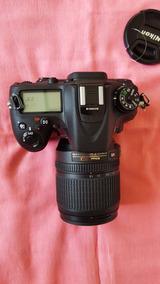 Camara Nikon D7100 + Lente Nikkor 18-105mm Em Estado De Nova