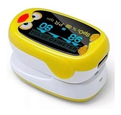 Imagen 1 de 3 de Oximetro Pediatrico  Recargable Pulso Para Bebe  Hogar