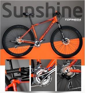 Bicicleta Top Mega Sunshine Rodado 29 -original-río Negro/n