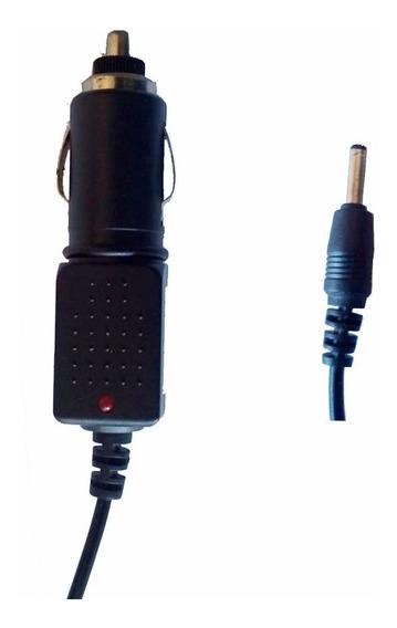 Fonte Carregador 12v Pino P2 3.5mm X 10mm Veicular Carro Gps