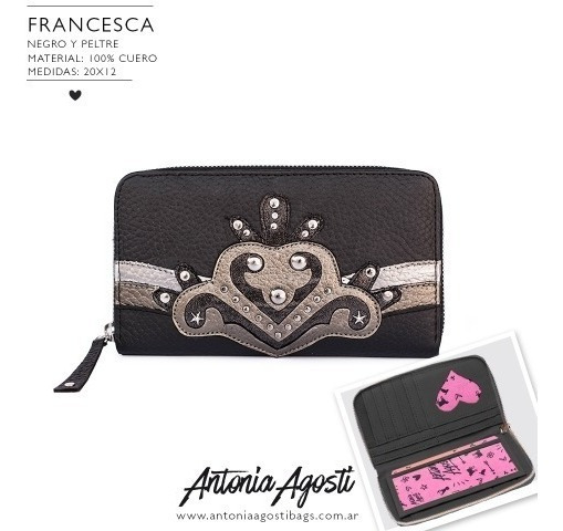 Billetera Francesca Antonia Agosti