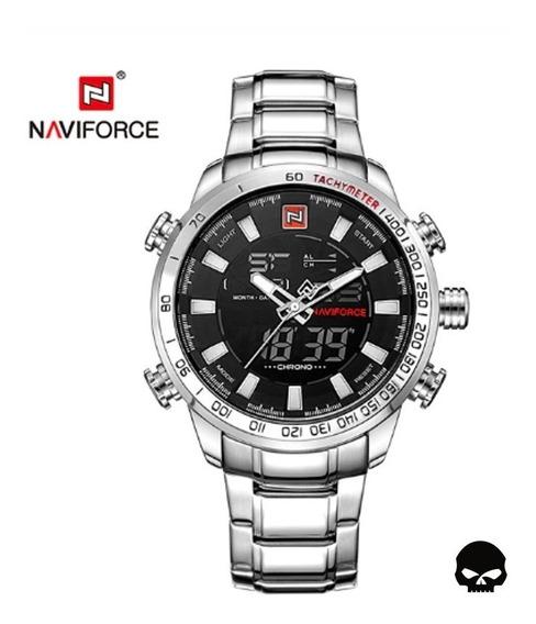 Relógio Masculino Naviforce 9093 Digital Esportivo Original