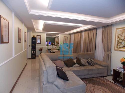 Apartamento Com 3 Dormitórios À Venda, 134 M² Por R$ 911.600,00 - Jardim Olympia - São Paulo/sp - Ap25211