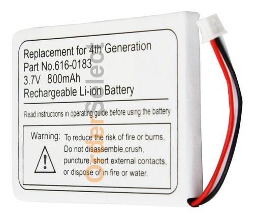Pila Bateria 800mah For Apple iPod Mp3 4th Gen