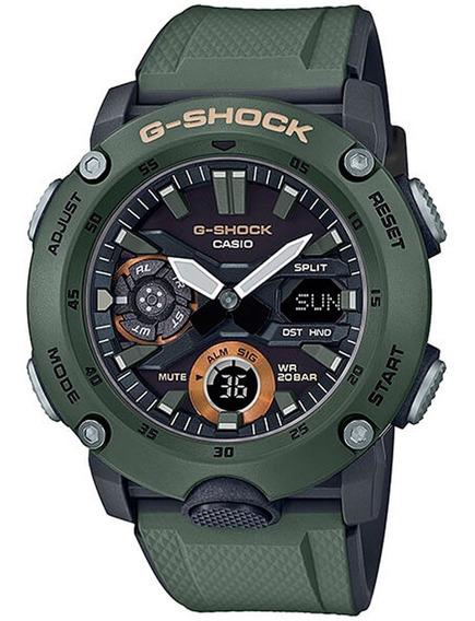 Relógio G-shock Original Ga-2000-3adr Nf-e Garantia Nacional