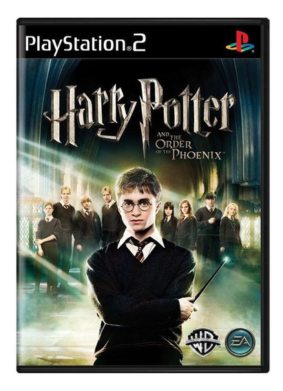 Harry Potter And The Order Of The Phoenix Ps2 Mídia Física