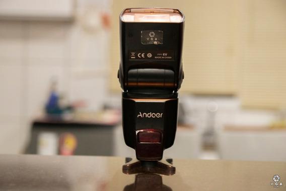 Flash Universal Andoer Ad560 Iv (lampada Queimada)