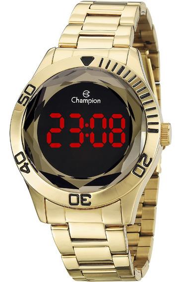 Relógio Feminino Champion Digital Dourado Ch48073h