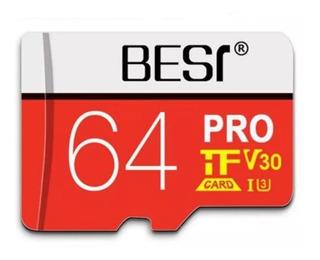 Cartao Micro Sd Card A1 V30 U3 64gb Memoria Best