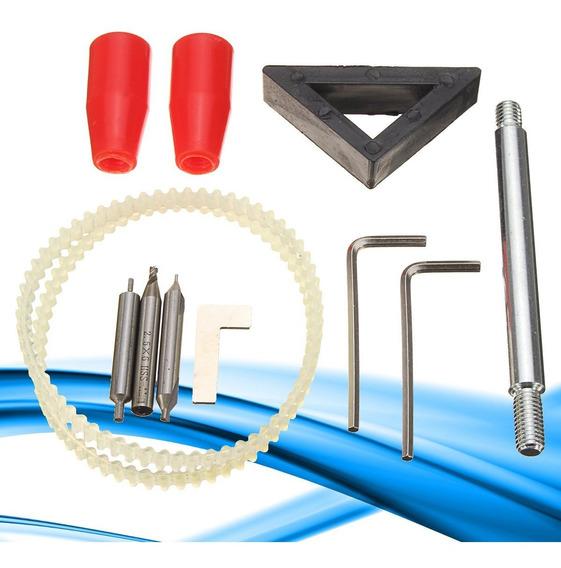 12 Pcs Chave De Correia Broca Kit Acessórios Para Reparação