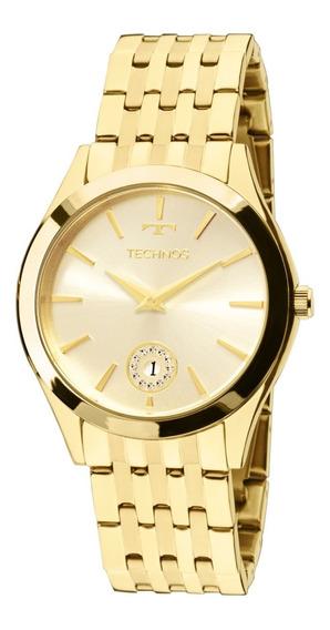 Relógio Feminino Technos Analógico Dourado 1m15aq4x