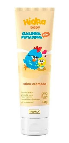 Hidrababygalinha Pintadinha Talco Infantil Cremoso 120g