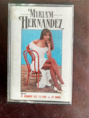 Cassette De Myriam Hernandez - El Hombre Que (389