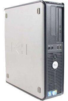 Cpu Dell Optiplex Dual Core 4gb Hd 80gb Dvd Wifi Usado