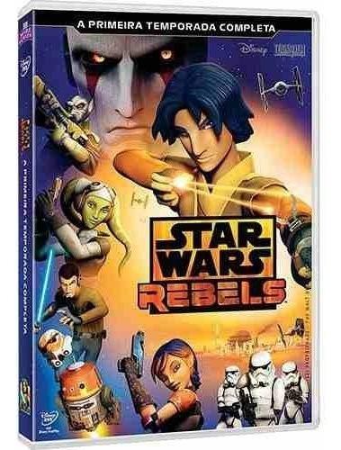 Box Dvd Star Wars Rebels 1ª Temporada Completa - 3 Dvds