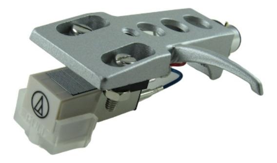 Audio Technica At3600 L, + Headshell Mod. Technics Prata