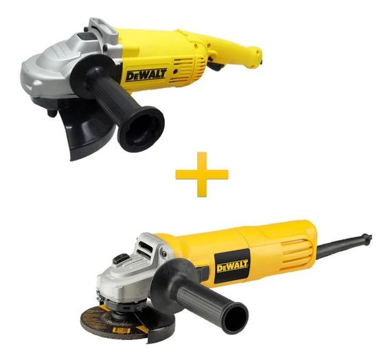 Kit Esmeril 7 2200w + Esmeril 4 ½ 750w Dwe4910-b2c