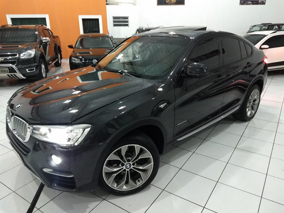 Bmw X4 28i Xline 2018 Cinza 2.0 Turbo Top Teto Midia 33 Km