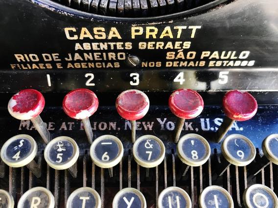 Máquina Escrever Remington Modelo 12 Funcionando