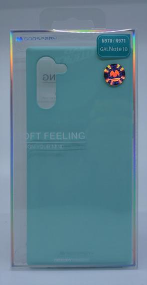 Funda Protector Galaxy Note 10 Goospery Sf Jelly Case