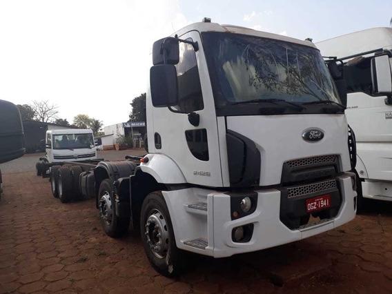 Ford Cargo 2429 E - 4 Eixo - 2013 / 6x2 - Barato - No Chassi