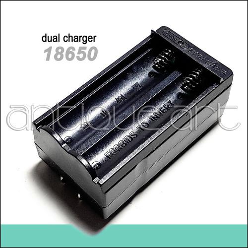 A64 Cargador Pila 18650 Recargable Bateria Travel Charger