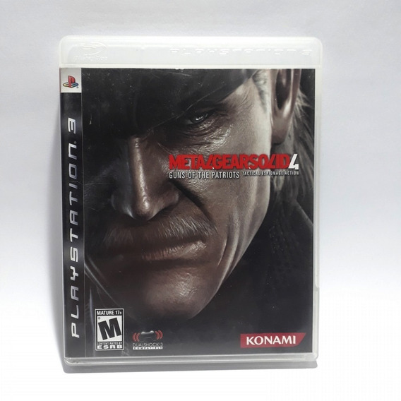 Jogo Metal Gear Solid 4 Guns Of The Patriots Ps3 Original