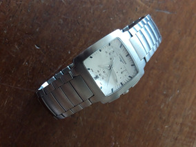 Longines Chronograph Quadrado Raro Sapphire Crystal Swiss