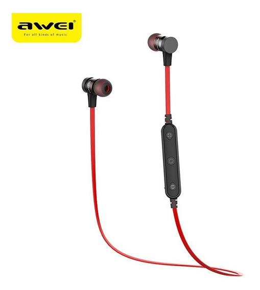 Fone De Ouvido Bluetooth Awei B922 Bl Vermelho
