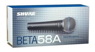 Microfono Shure Beta 58a. Original Mexico