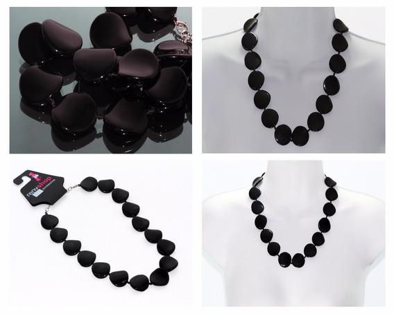 Collar Piedra Natural Dama Joyeria Joyería Onix Moda Ccpn156