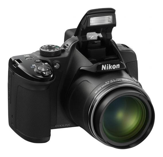 Youtuber ! - Câmera Nikon Coolpix P520 - P52a