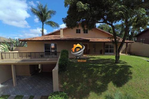 Casa Com 5 Dormitórios À Venda, 540 M² Por R$ 1.550.000,00 - Granja Caiapiá - Cotia/sp - Ca0040