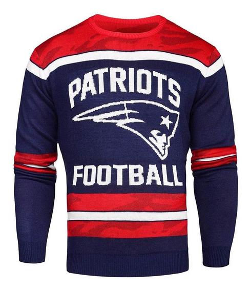 Nfl New England Patriots Sweater Hombre