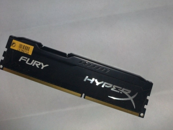 Memória Ram Kingston Hyper Fury 4 Gb Ddr3 1600mhz
