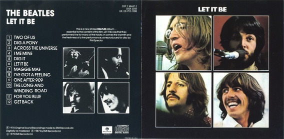 Cd The Beatles Let It Be