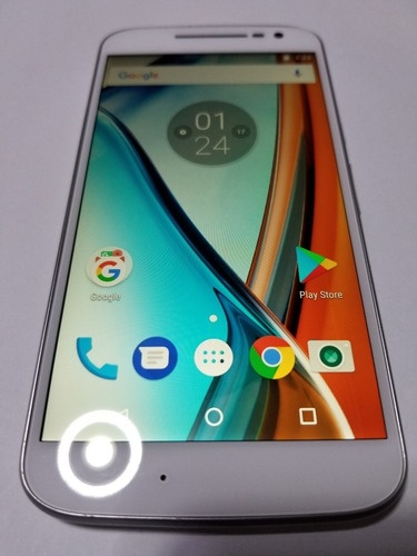 Motorola Moto G4 32gb Blanco Libre De Todo 4g Con Cargador